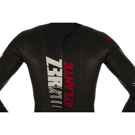 Z3R0D Atlante Wetsuit Men, black/red